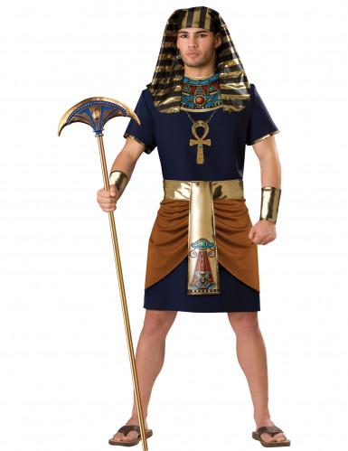 Costume da Faraone d'Egitto uomo adulto <br />- Premium