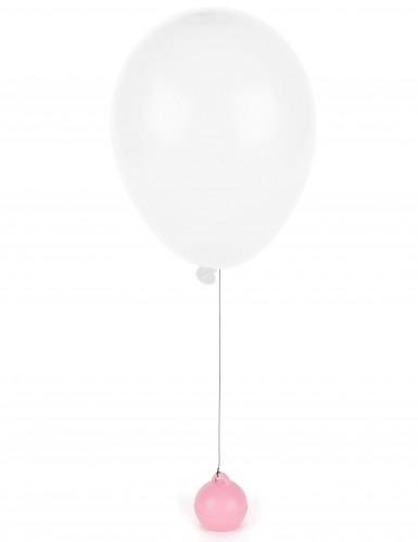 Peso per palloni a elio rosa-1