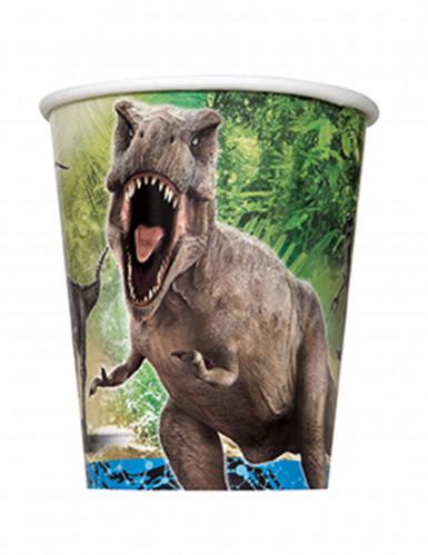 8 bicchieri di cartone Jurassic World™