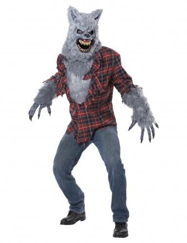 Costume licantropo halloween uomo