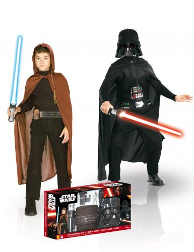 Pacchetto costumi per bambino Jedi + Dart Fener <br />- Star Wars™