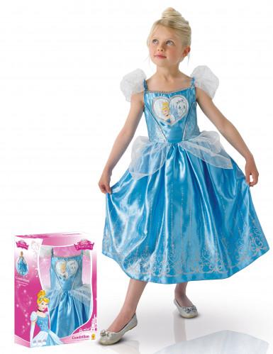 Costume deluxe da bambina di Cenerentola™ con cofanetto