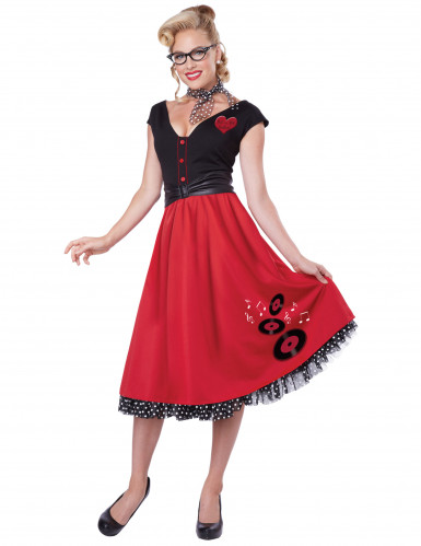 Costume Rock'n'roll strepitoso per donna