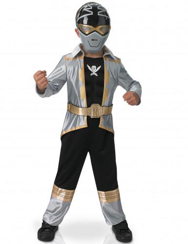 Costume per bambino 3D Power rangers™ Silver Super mega force