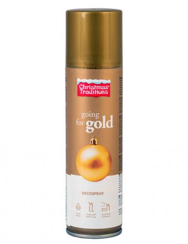 Bomboletta spray 150 ml colore oro