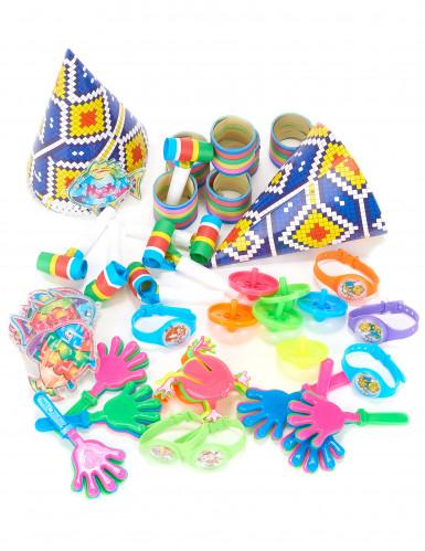 Kit multicolore per festa bambini