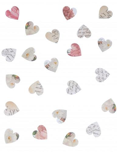 Coriandoli a forma di cuore di carta-1