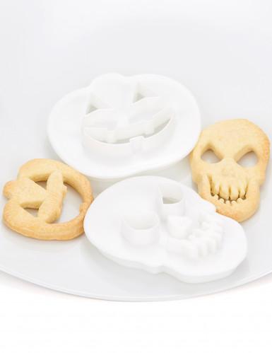 Taglia biscotti a forma di zucca e teschio per Halloween-2