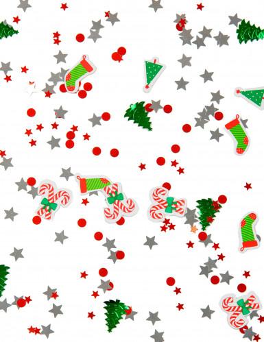 Coriandoli colorati a tema Natale-1