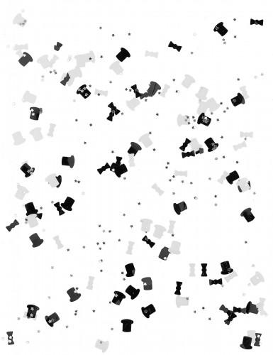 Coriandoli bianchi e neri per Capodanno-1