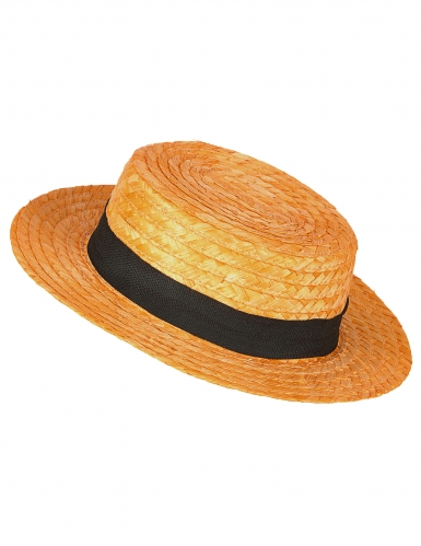 Cappello di paglia da canottiere