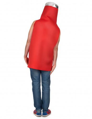 Costume bottiglia di ketchup adulto-2