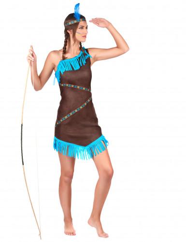 Costume da Indiana monospalla donna-1