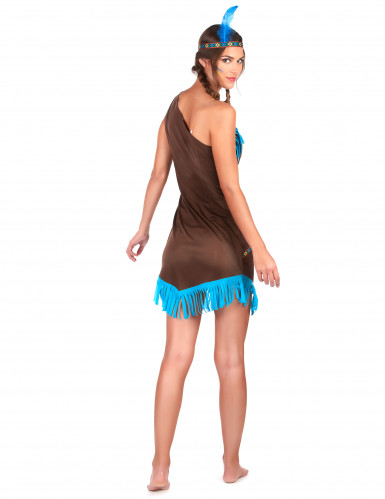 Costume da Indiana monospalla donna-2