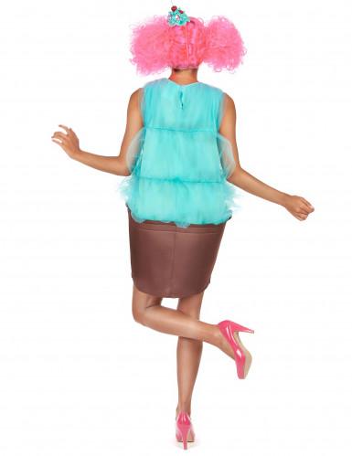 Costume cupcake turchese donna-2