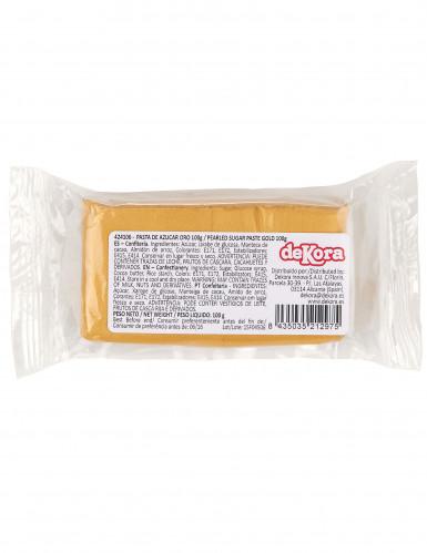 Pasta di zucchero oro