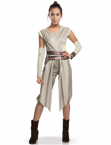 Costume Luxe Rey Star Wars VII™ adulto