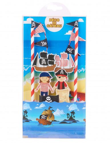 Decorazione Torte disegno Pirati