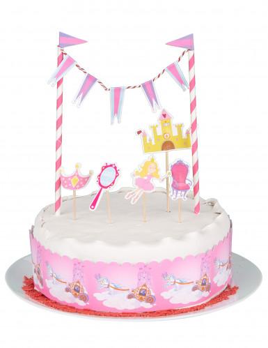 Graziosa decorazione principessa per torta-1