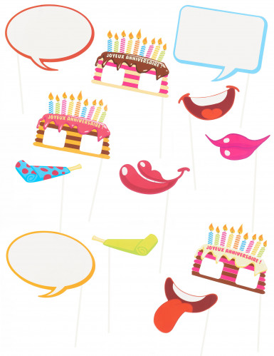 Kit per foto tema compleanno