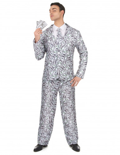 Costume da uomo con disegni di dollaro