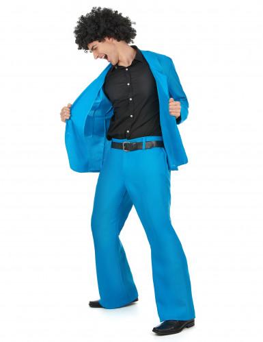Vestito azzurro uomo disco-1