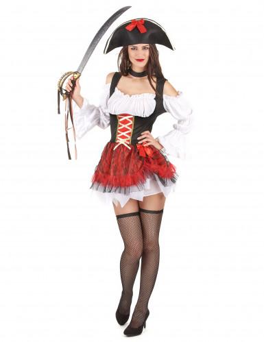 Vestito da piratessa sexy donna