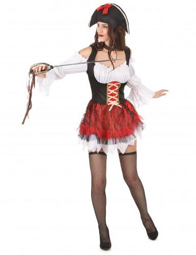 Vestito da piratessa sexy donna-1