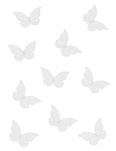 10 coriandoli da tavola a forma di farfalla-1