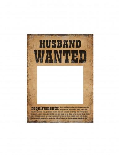 2 cornici per foto in stile cartello Wanted