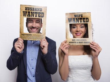 2 cornici per foto in stile cartello Wanted-1