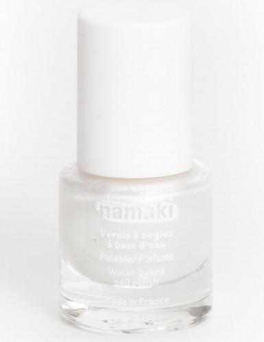 Smalto per unghie 7,5 ml Namaki Cosmetics ? a base di acqua bianco perla