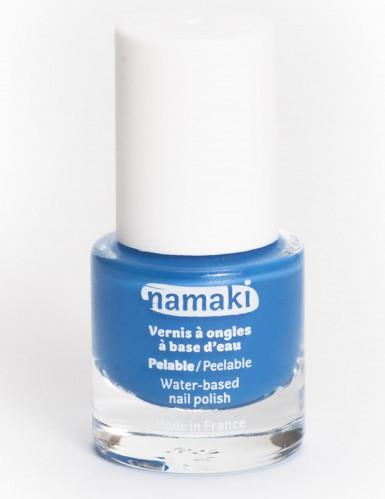 Smalto per unghie a base di acqua blu di Namaki Cosmetics