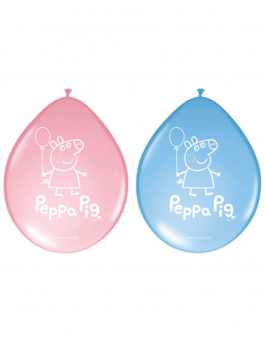 8 Palloncini in latex Peppa Pig™