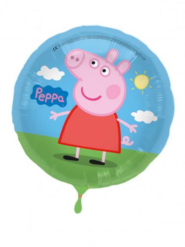 Palloncino tondo in alluminio Peppa Pig™