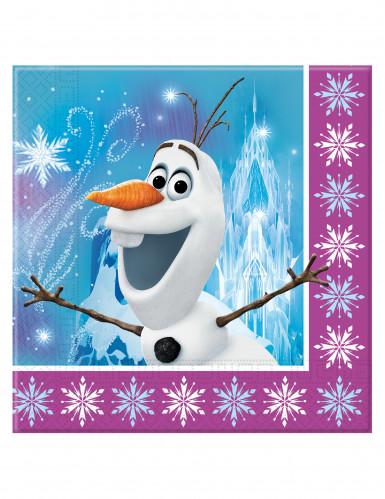 Tovaglioli di carta di Elsa Frozen-1