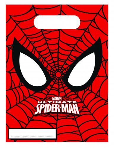 Lotto da 6 sacchetti regalo Ultimate Spiderman™