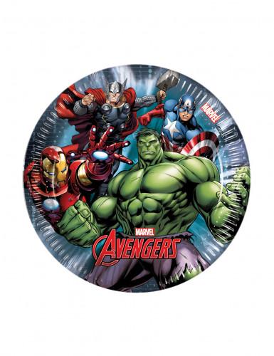 Confezione 8 piattini Avengers Power™