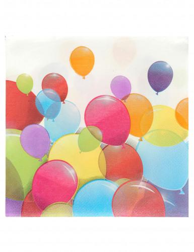 20 tovaglioli palloncini volanti