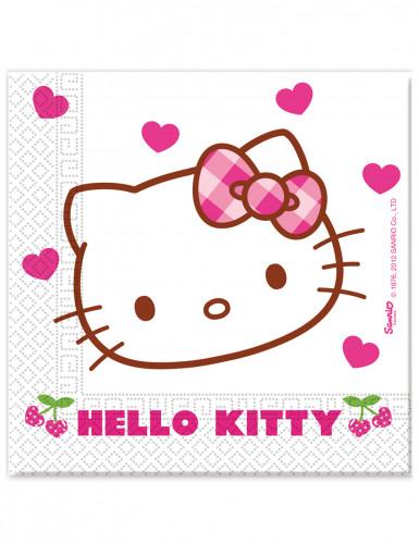 20 tovaglioli di carta Hello Kitty™