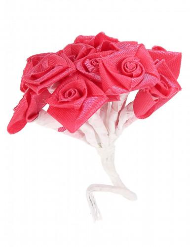 72 Mini rose di raso fucsia-1