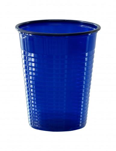 50 bicchieri blu marine