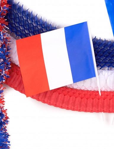 kit decorativo francia blu, bianco e rosso-3