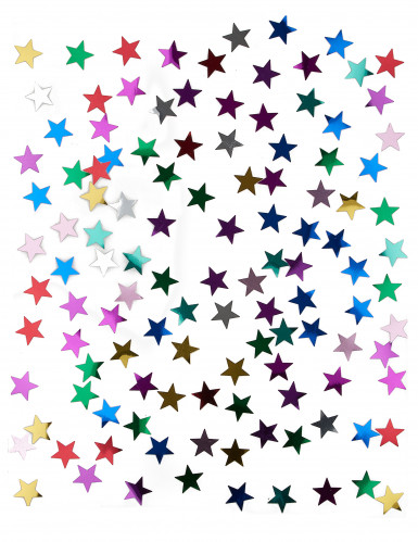 Coriandoli con stelle multicolori 14 gr-1
