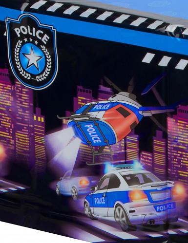 Tovaglia in plastica tema polizia-1