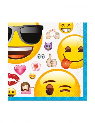 16 tovaglioli Emoji™ 25 cm