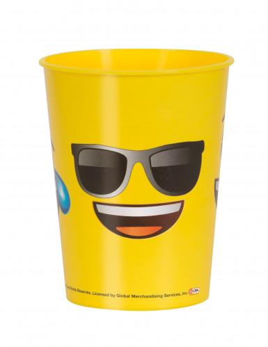 Bicchiere in plastica smile Emoji™
