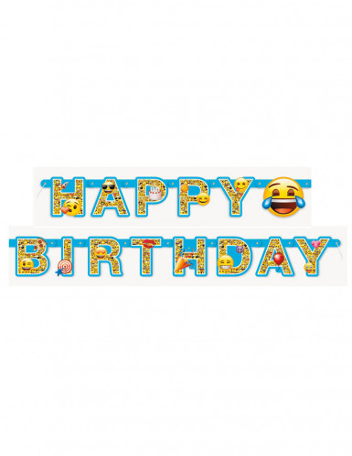 Ghirlanda Happy Birthday Emoji™