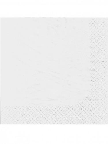 100 tovaglioli bianchi