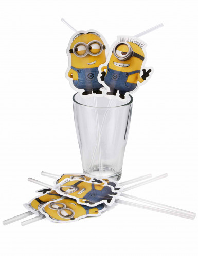 6 cannucce lovely Minions™-1